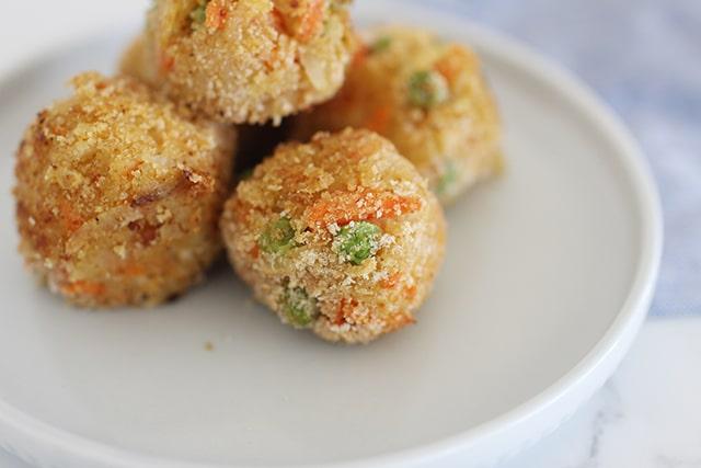 veggie nuggets finger food for kids