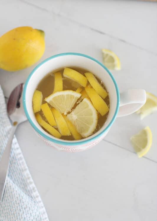 Honey Lemon Natural Cold Remedy - Super Healthy Kids
