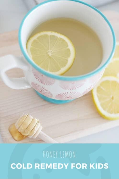 Honey Lemon Cold Remedy For Kids