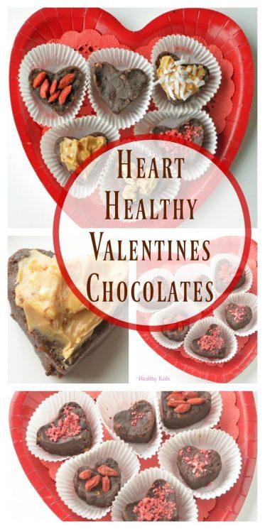 Heart Healthy Valentines Chocolates