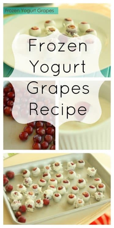 Frozen Yogurt Grapes Recipe