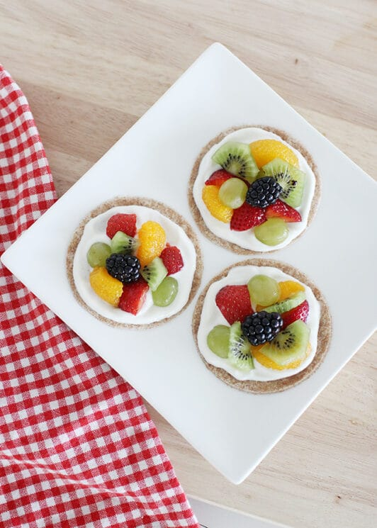 healthy fruit pizza recipe