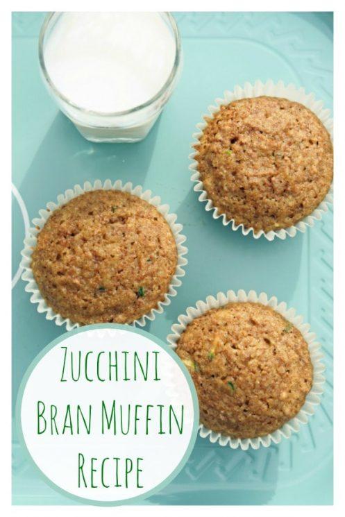 Zucchini Bran Muffin Recipe