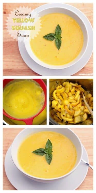 Creamy Yellow Squash Soup Recipe