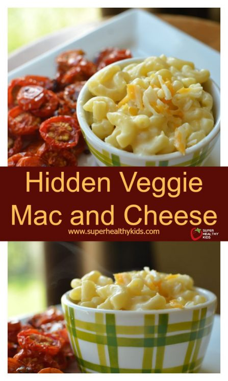FOOD - Hidden Veggie Mac and Cheese. Another mac and cheese classic, made healthier- with hidden veggies!