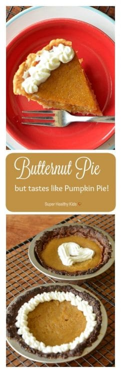 It's Butternut, but tastes like Pumpkin, Pie! This is the recipe pumpkin pie doesn't want you to know about. https://www.superhealthykids.com/its-butternut-but-tastes-like-pumpkin-pie/