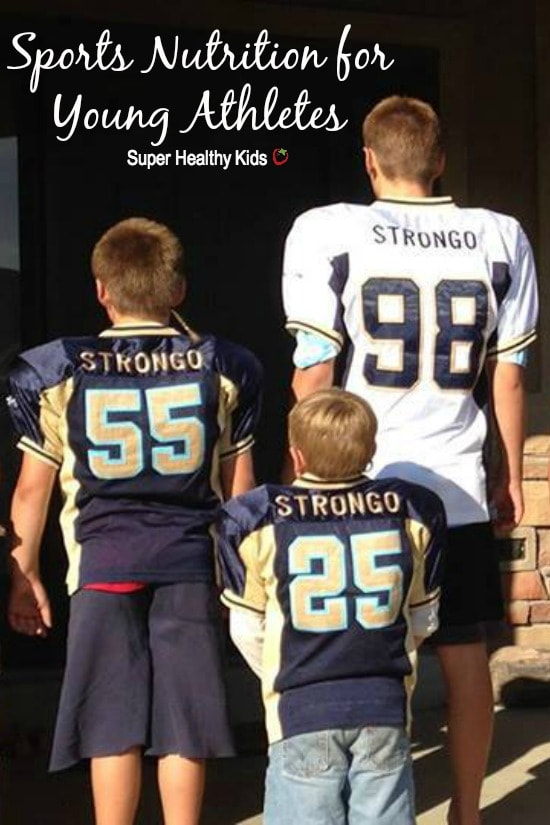 SPORTS - Sports Nutrition for Young Athletes. This guide for sports nutrition will also fuel your athlete with confidence! https://www.superhealthykids.com/sports-nutrition-for-young-athletes/