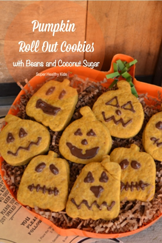 Pumpkin Roll Out Cookies with Beans and Coconut Sugar. Spook   get spooked  this Halloween 990f499e3cb1