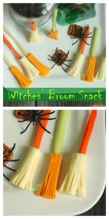 Witches' Broom Snack
