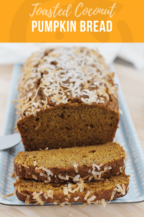 Toasted Coconut Pumpkin Bread | Healthy Recipes for Kids