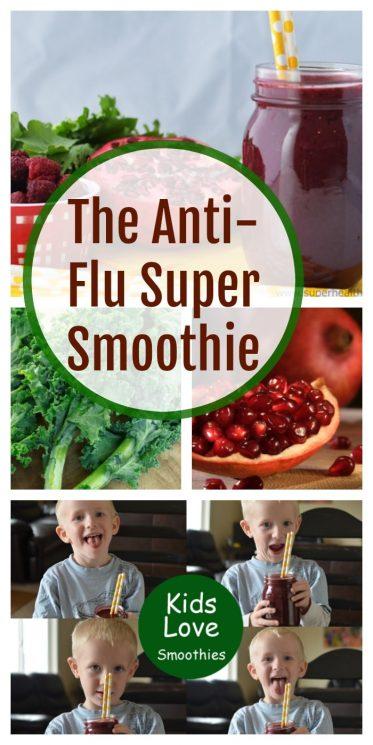 The Anti-Flu Super Smoothie