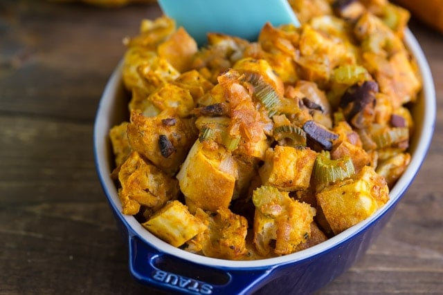 Pumpkin Stuffing for Thanksgiving