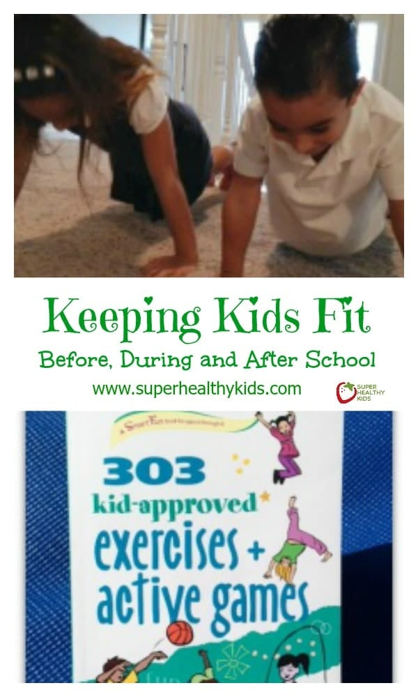Keeping Kids Fit: Before, During and After School. Do your kids need a fitness break right after school? Here's some ideas to help them shake off the day.