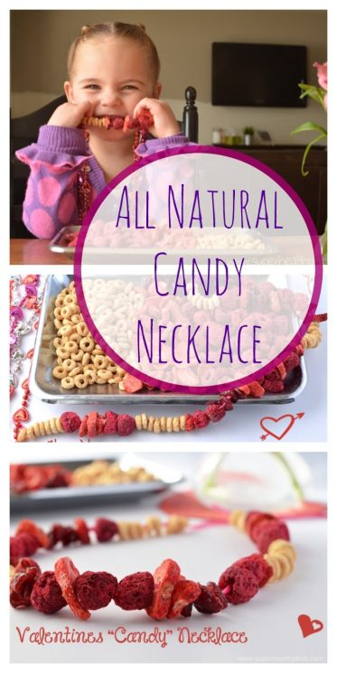All Natural Candy Necklace