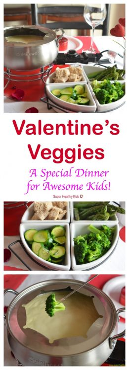 FOOD - Valentine's Veggies- Special Dinner for Awesome Kids. A fun dinner to celebrate Valentine's day with the family! https://www.superhealthykids.com/valentines-veggies-special-dinner-for-awesome-kids/