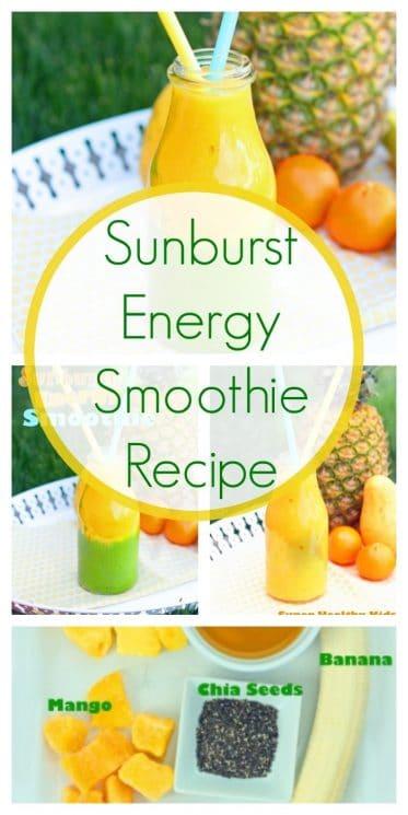 Sunburst Energy Smoothie Recipe