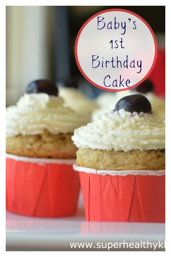 Healthy Cupcake Recipes For Baby First Birthday Idea Gallery