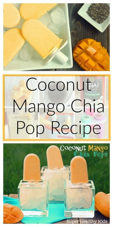 Coconut Mango Chia Pop Recipe