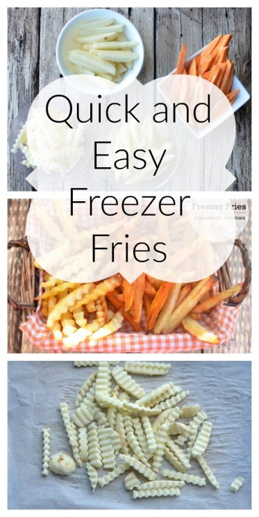 Quick and Easy Freezer Fries