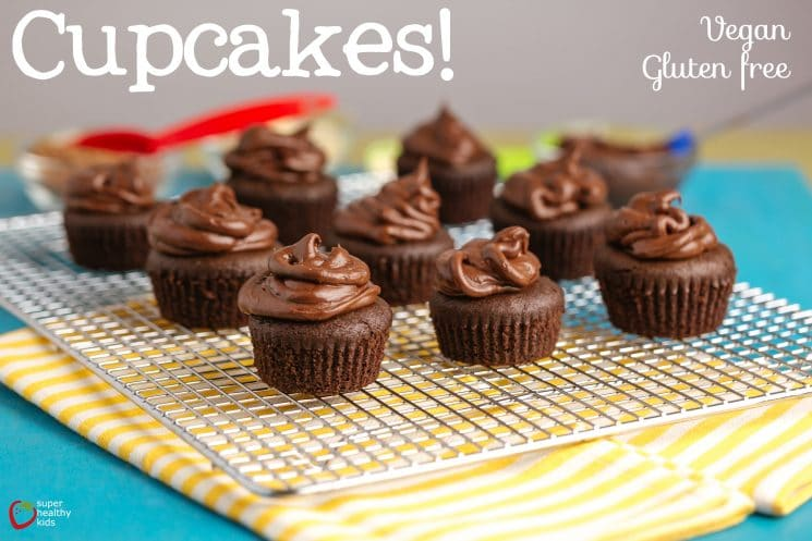 Vegan Gluten Free Cupcake Recipe. Mmm.. anyone need some cupcakes? These are vegan and gluten free!