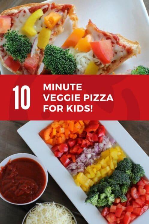veggie pizza recipe for kids