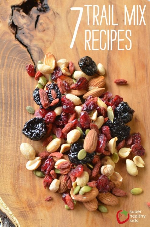 healthy natural trail mix