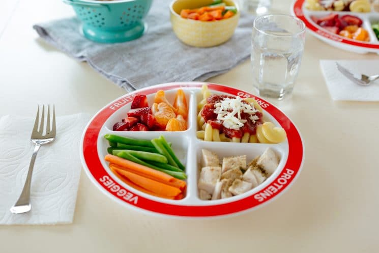 21 Days of Things to Do with A Picky Eater, healthy balanced meal