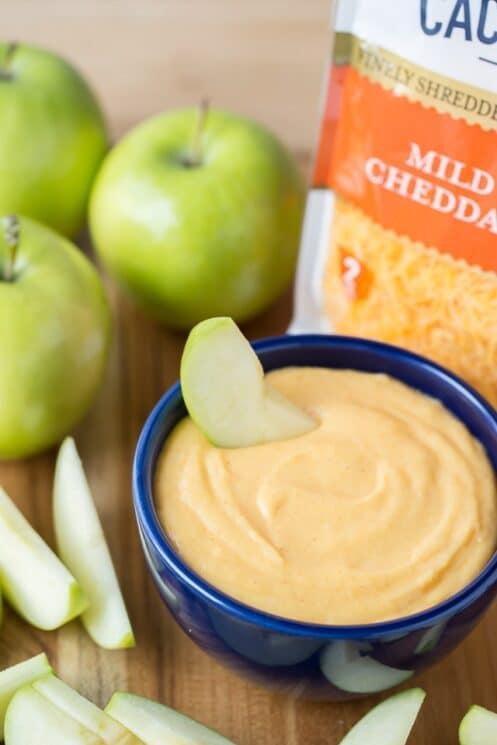 Ooey Gooey Cheesy Apple Nachos www.superhealthykids.com