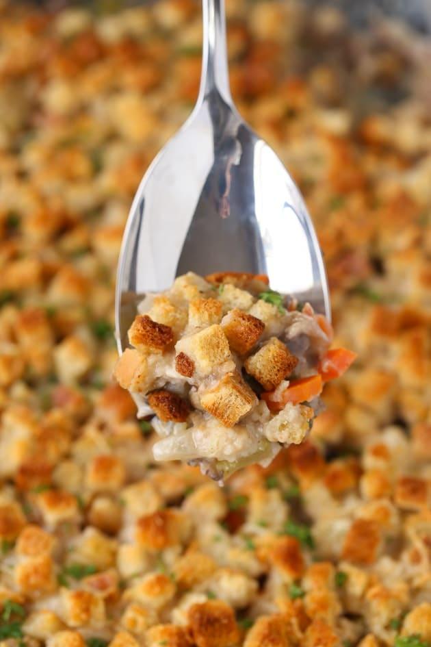 Chicken Wild Rice Casserole for kids