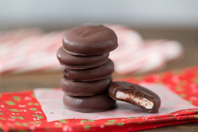 Healthy Homemade Peppermint Patties for Christmas