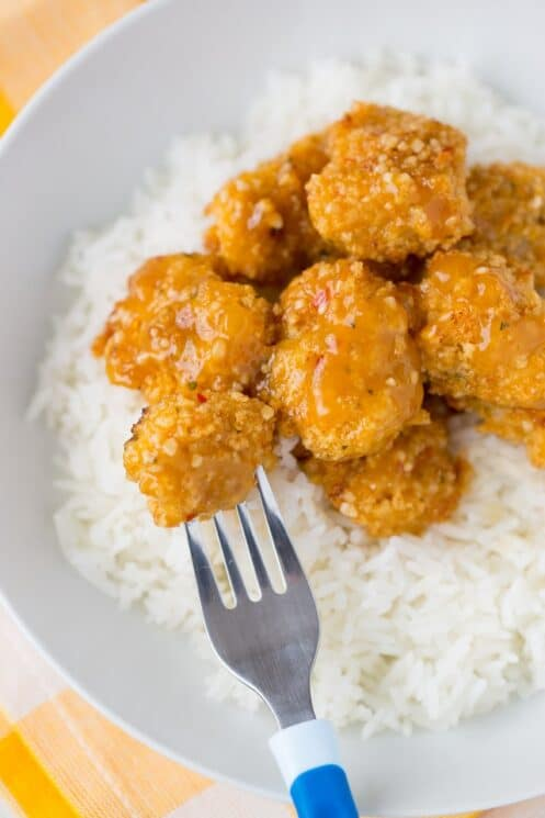 Freezer Friendly Healthy Orange Chicken the kids will LOVE