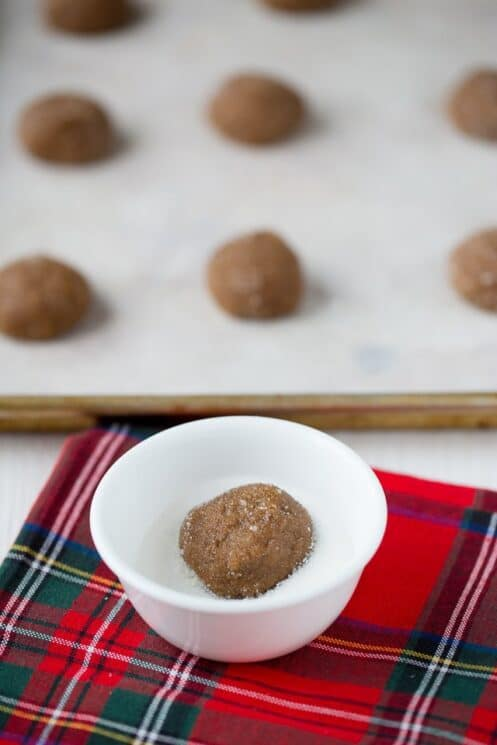 Healthier Ginger Snap Cookies