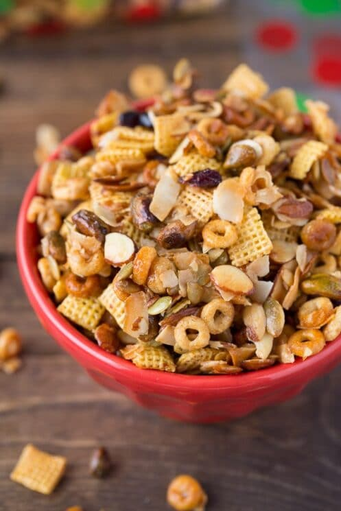 Holiday Snack Chex Mix