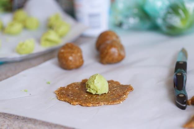 How to make Key Lime Energy Bites