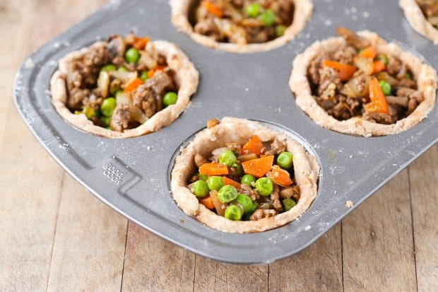 DIY Mini Shepherd's Pies, how to make Mini Shepherd's Pies, preparation