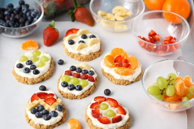 No-Bake Easter Egg Fruit Tarts