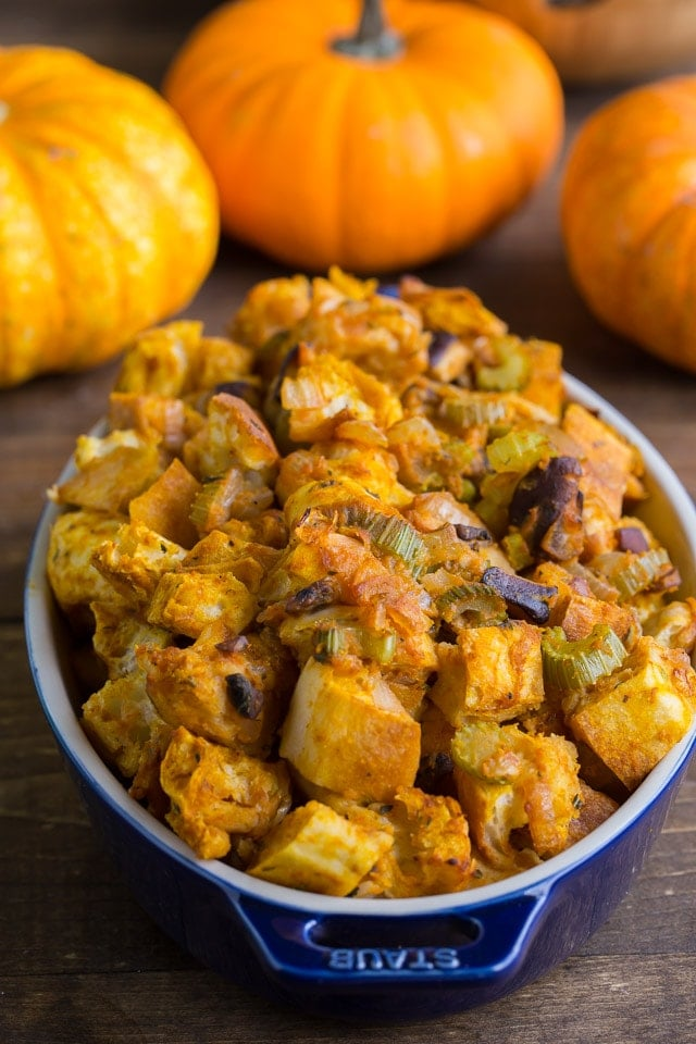 Pumpkin Stuffing for the perfect thanksgiving