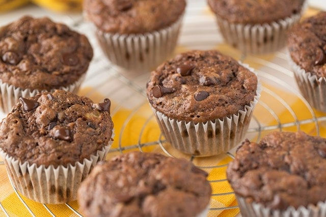 Chunky Monkey Muffins for kids!