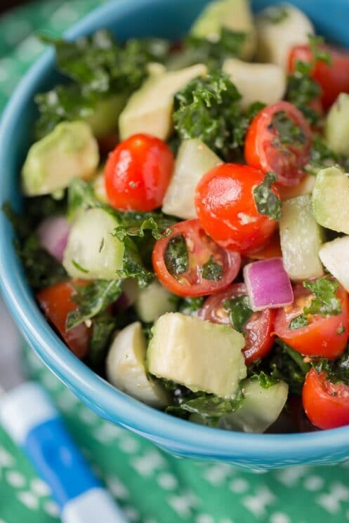 The best Chopped Kale Salad