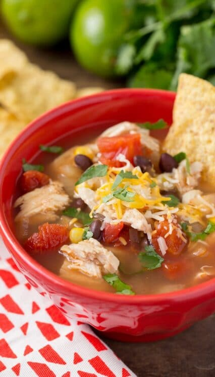 tortilla soup for the instant pot