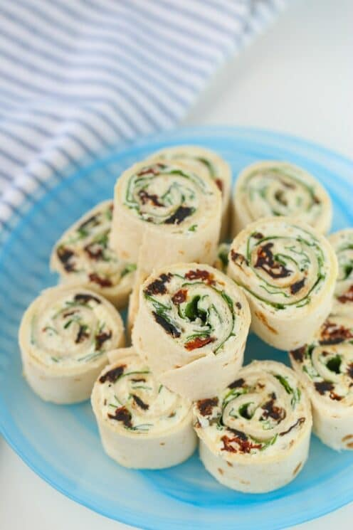 Sun Dried Tomato Pinwheels the kids will love!