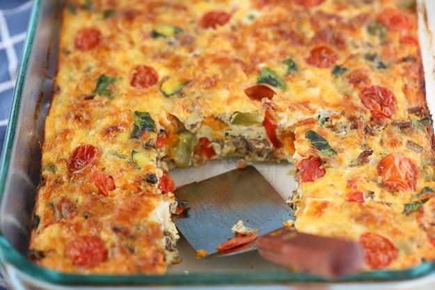 Breakfast for a crowd Sweet Potato Hash Brown Casserole