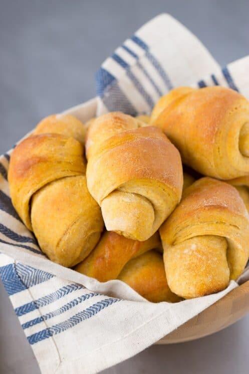 Healthy Scrumptious Sweet Potato Crescent Rolls