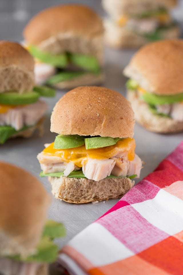 Warm Turkey Sliders