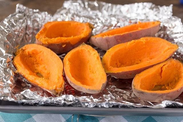 How to make Twice Baked Sweet Potatoes