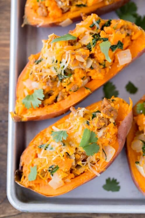Recipe for Twice Baked Sweet Potatoes