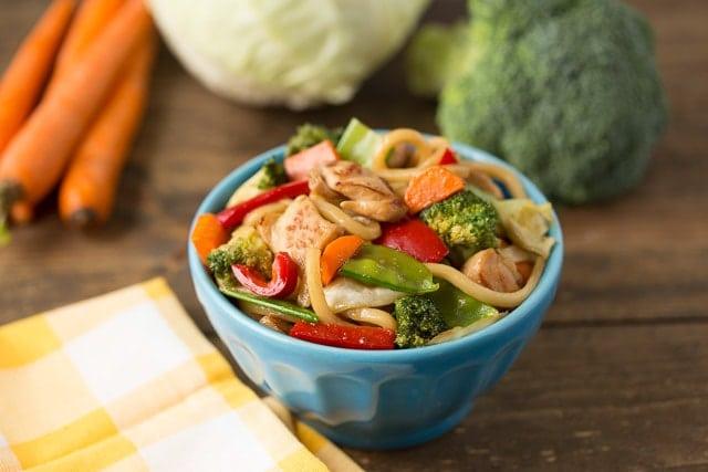 Veggie Chicken Teriyaki Bowl Recipe