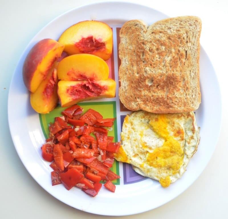 MyPlate Flat Plate | Super Healthy Kids