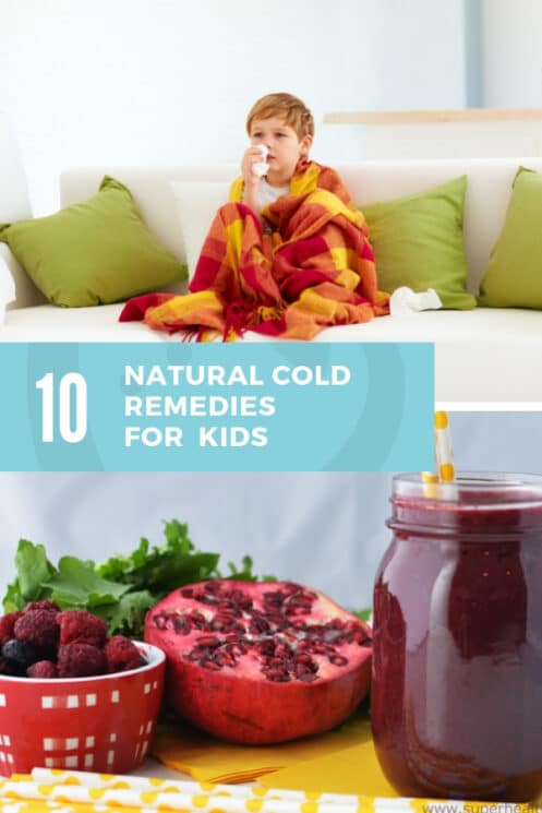 10 Natural Cold Remedies for Kids