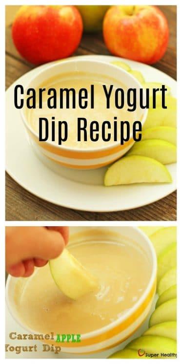 Caramel Yogurt Dip Recipe